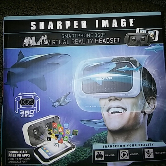 Living Solutions Other Virtual Reality Headset By Sharper Image